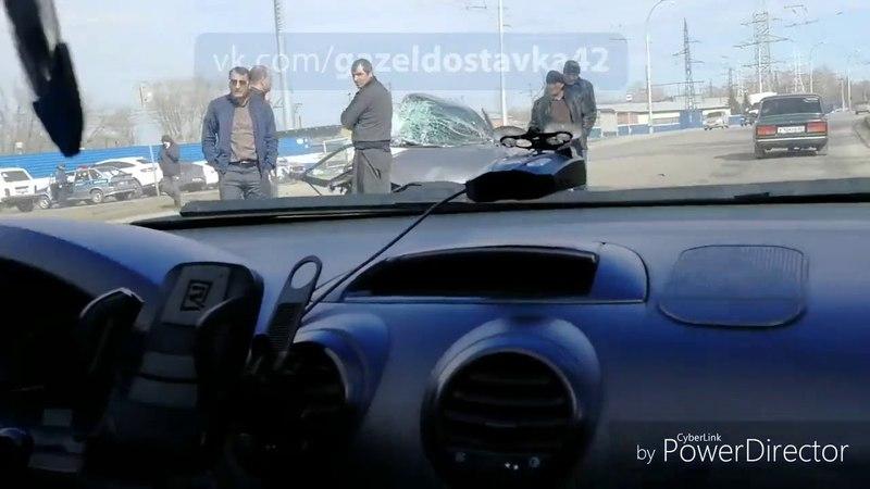 В Кемерове произошло страшное ДТП с участием маршрутки