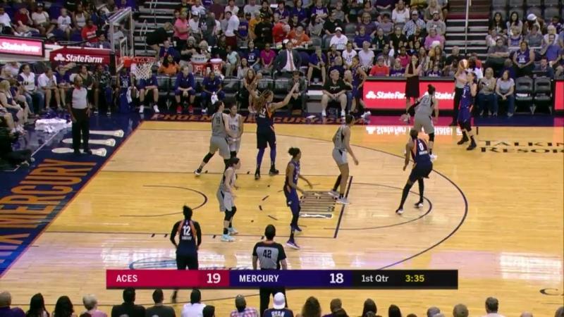 WNBA Phoenix Mercury vs Las Vegas Aces 19 07 2018