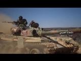 خاص: شاهد الاشتباكات من مسافة قريبة بين الجيش السوري وفلول داعش في عمق البادية السورية