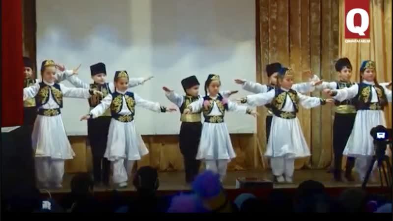 Детский ансамбль «Hayal» делает свои первые шаги