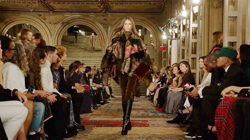 Ralph Lauren | Fall Winter 20182019 Full Fashion Show | Exclusive