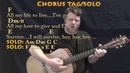 I Will Survive Gloria Gaynor Strum Guitar Cover Lesson with Chords Lyrics