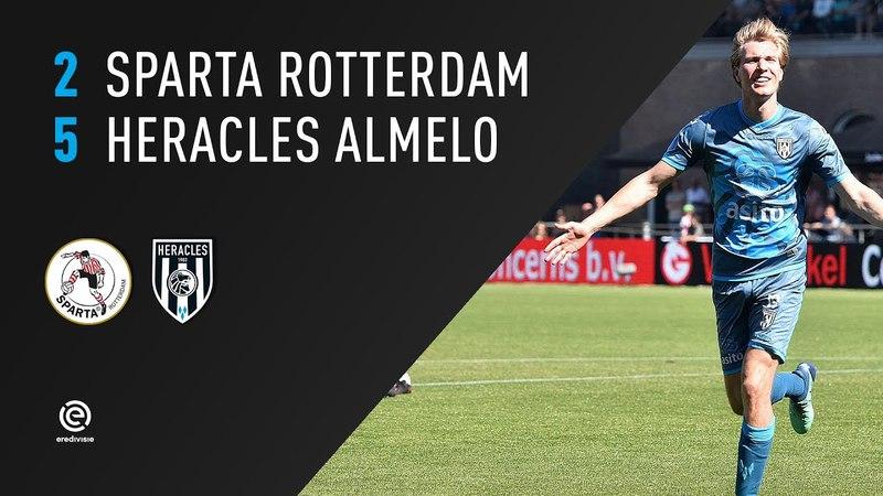 Sparta Rotterdam - Heracles Almelo 2-5 | 06-05-2018 | Samenvatting