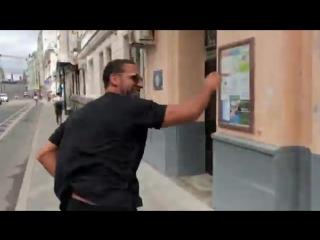 Рио Фердинанд гуляет по Москве