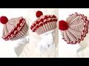 Tığ ile Kolay Cupcake Kapkek Bere Yapımı