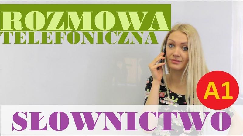 Polish for foreigners - rozmowa telefoniczna