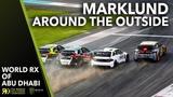 Marklund Around the Outside! 2019 FIA World Rallycross Abu Dhabi