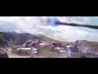 Мстители война бесконечности. Сцена появления тора в ваканде. В HD качестве