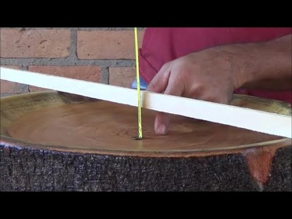 Trabalho Rústico Com Bolacha de Madeira, Como Fazer