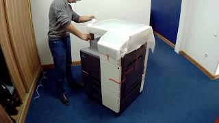 Запуск принтера Konica Minolta с308