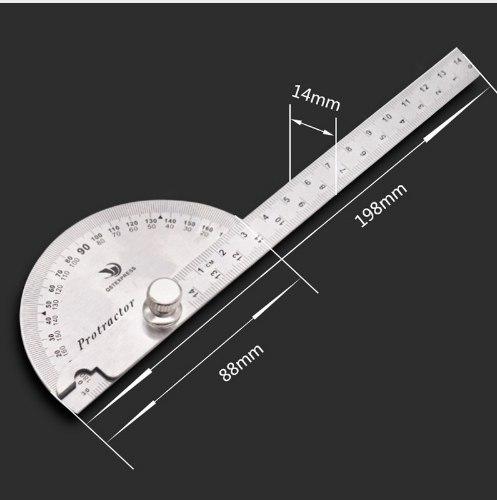 Металлический угломер