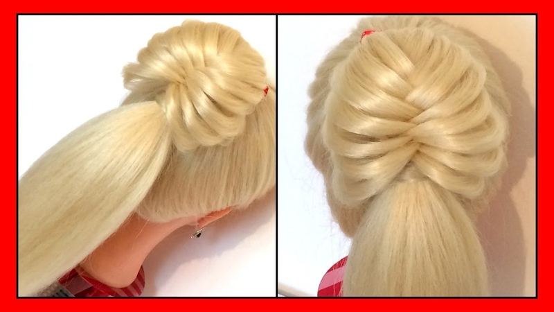QUICK CUTE ONE STRAND STYLE HAIRSTYLE / HairGlamour Styles / Braids Hair Tutorial