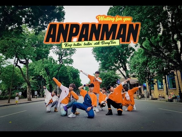 [KPOP IN PUBLIC CHALLENGE] BTS(방탄소년단) - ANPANMAN DANCE COVER by 『FGDance』from Vietnam
