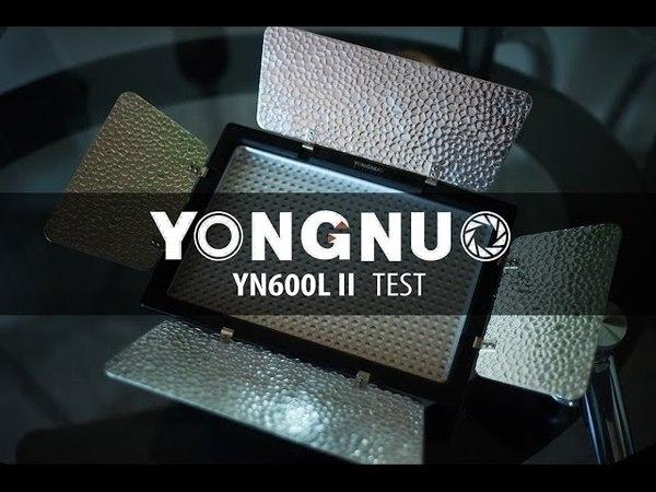 Yongnuo YN600L II Test