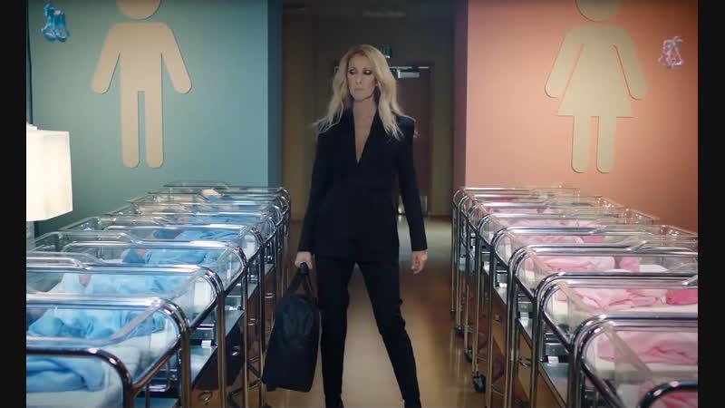 Celine Dion promotes gender neutral children's clothing