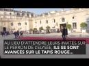 Emmanuel et Brigitte Macron ont ignoré le protocole pour accueillir les Bleus à l'Elysée Comme dhabitude !