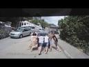 Приколы на дорогах КрымаОборжаться с таких наездников,Алупка