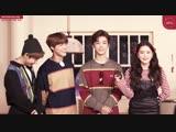 181203 Renjun, Jeno & Jaemin (NCT) x Yeri (Red Velvet) @ smtownstation Instagram Update