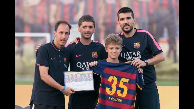 Oscar Belis FC Barcelona