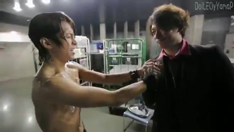 Томо и Шинго после концерта ERO-P 2012 г :)