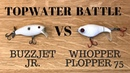 Topwater Battle: Deps Buzzjet Jr. vs. Whopper Plopper 75 | Unexpected result