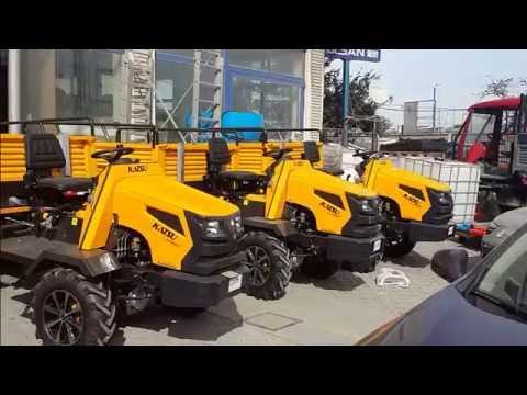 Katsu Bahçe Traktörü - Arazi Testi