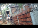 Индия. ГОА. Строительство домов из каменных блоков.