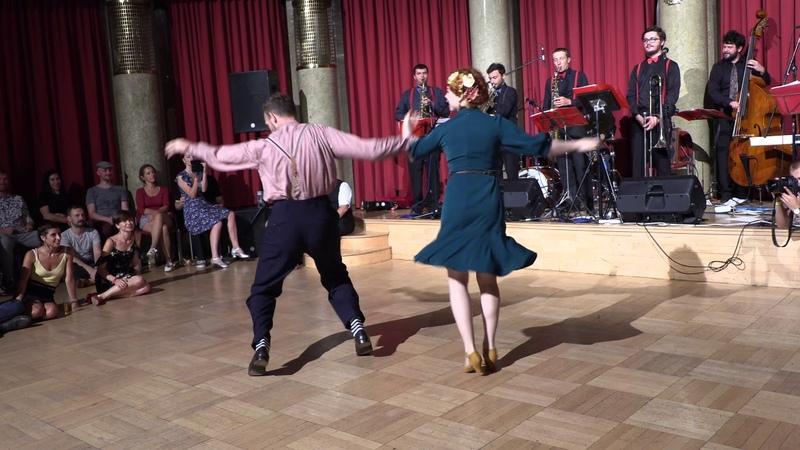 Andreas Olga ✪ Social • • 2018 Ballove Weekend Prag :: C Jam Blues / Balboa by Heart of Dixie