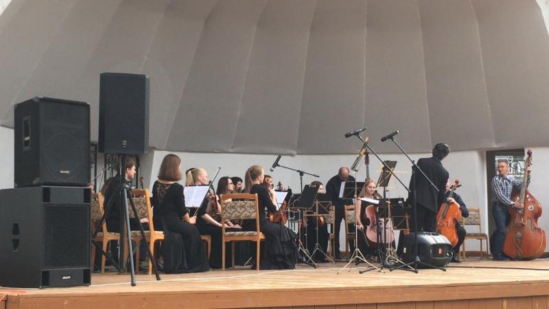 Закрытие фестиваля Open Air Fest Камерный оркестр В А С Н и Олег Давлет Хан