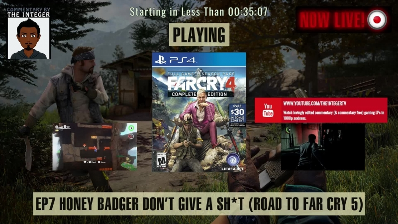 Far Cry 4: Way of the (Honey) Badger - 1 Campaign, 2 DLCS, 6 Days Left; The Road to Far Cry 5 (60% Blind LP) - EP 7 [ENG] [Can w