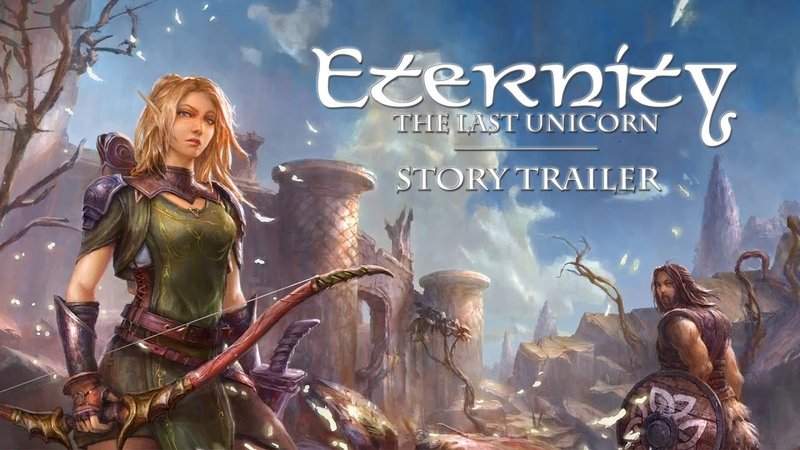 Eternity The Last Unicorn Official Release Date Trailer Fantasy RPG