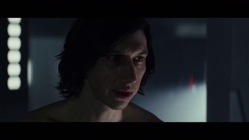 Star Wars:The Last Jedi - Rey and Kylo Ren Shirtless Scene