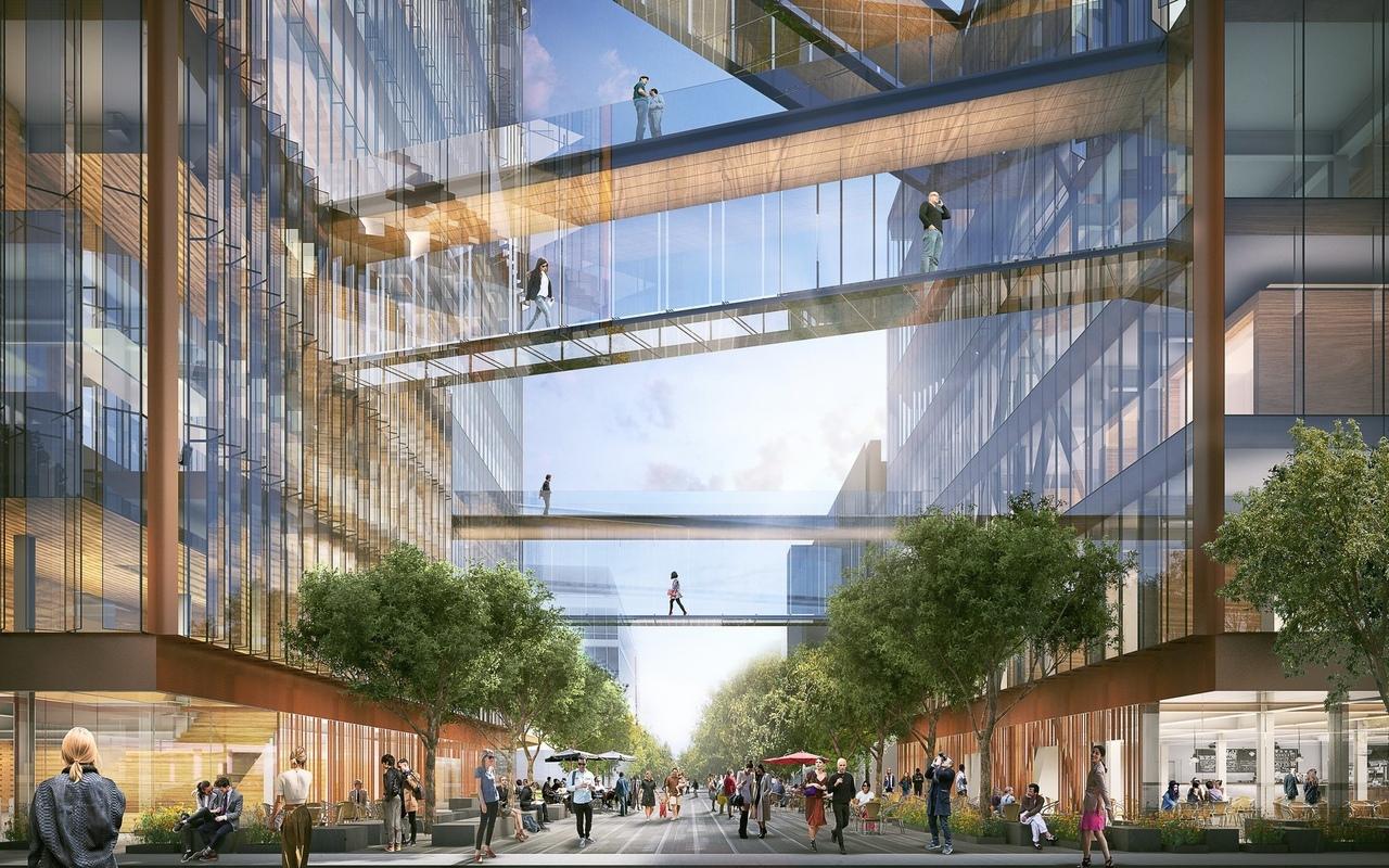 SHoP представляет планы новой штаб-квартиры Uber в Сан-Франциско