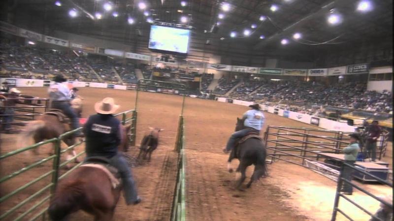Steer Wrestling - 2015 Rodeo All Star in Denver Colorado
