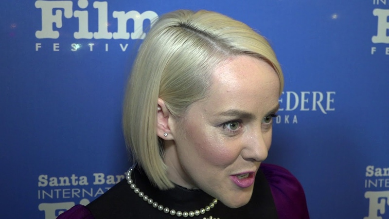 SBIFF 2018 Jenna Malone The Public Red Carpet Interview