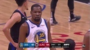 Kevin Durant CRAZY 4 Point Play At End Of First Half vs Clippers Game 4