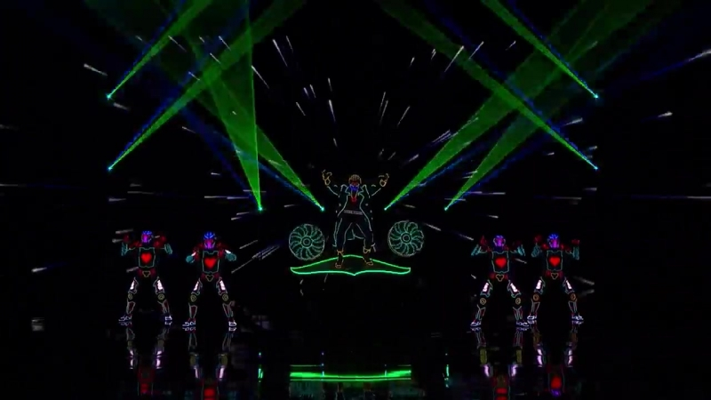 Light Balance_ Dance Group Lights Up The Stage With Awesome Routine - Americas Got Talent 2017