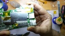 Ремонт слота SD карты на планшете