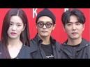 이유비 성훈 데니안 올블랙 카리스마 눈빛 '후덜덜' 2019 S S 헤라 서울패션위크
