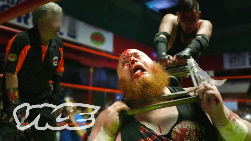 In The Ring with Mexicos Ultra-Violent Wrestlers