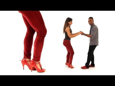 How to Do Bachata Basic w Kick Shuffle Bachata Dance