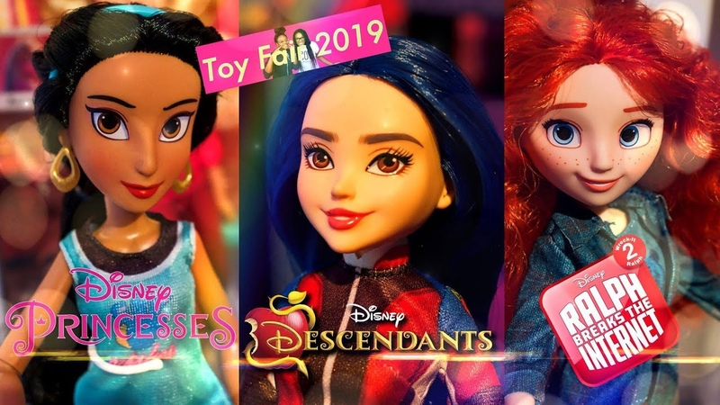 TOY FAIR 2019: ALL NEW Disney Descendants | Disney Princesses | Hasbro