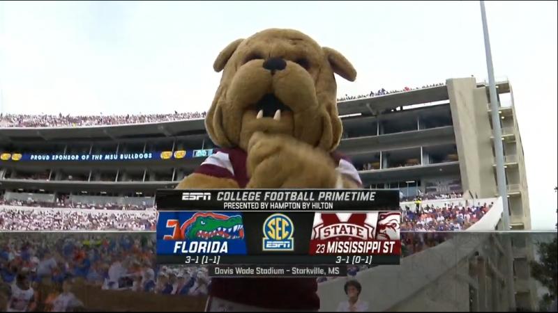 NCAAF 2018 / Week 05 / Florida Gators - (23) Mississippi State Bulldogs / EN