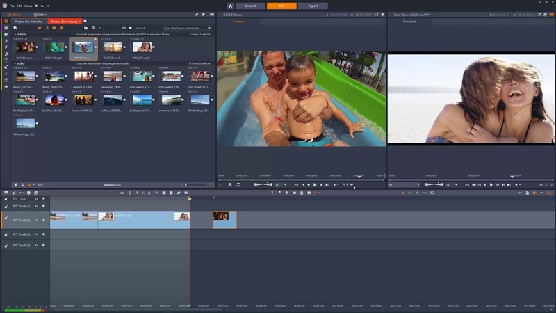 Three and Four Point Editing in Pinnacle Studio