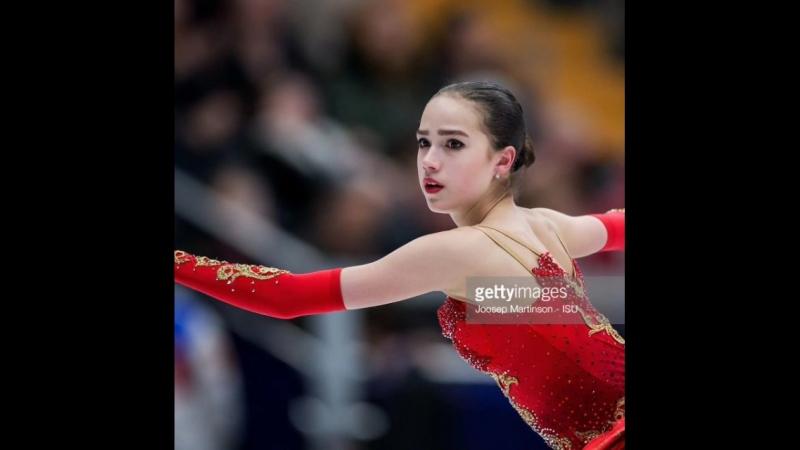 Алина и Олимпиские игры 2018