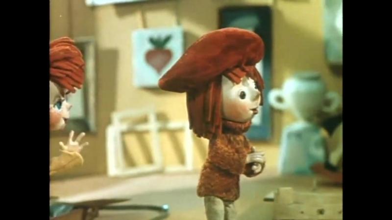 Приключения Незнайки 3 Незнайка художник Советские мультфильмы сказки в HD