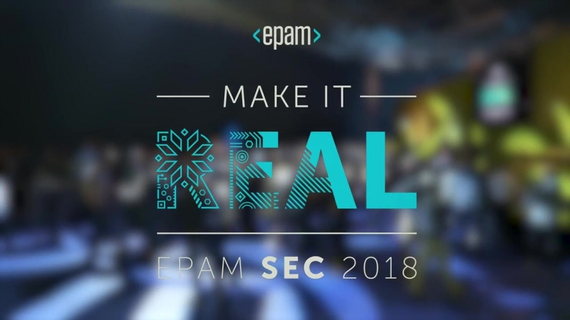 EPAMs Software Engineering Conference 2018