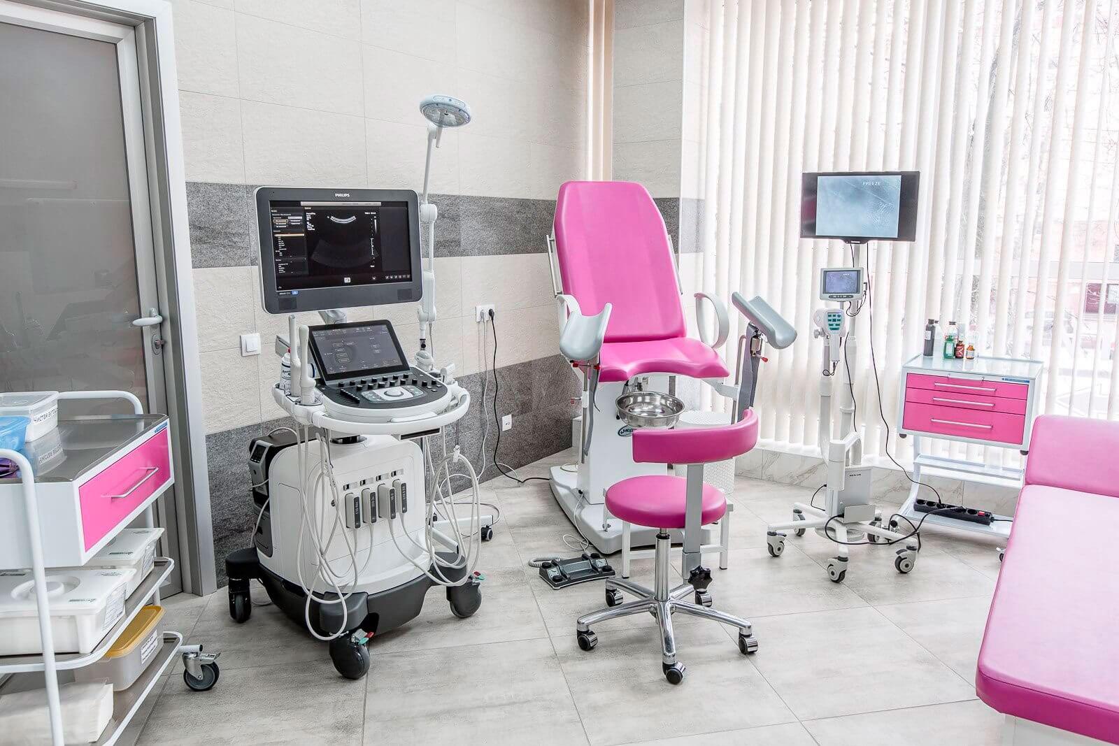 Что происходит в клинике гинекологии?