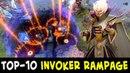 TOP-10 Invoker RAMPAGES — Divine Rank