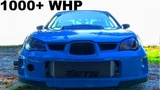 9-second 1000 horsepower Subaru WRX STI is a WILD BEAST ON THE STREETS